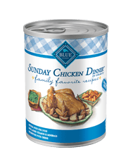 BLUE® Family Favorites Recipe® Sunday Chicken Dinner for Adult Dogs