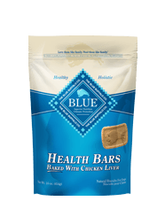 BLUE® Health Bars Baked with Chicken Liver Biscuits