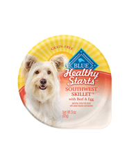 BLUE® Healthy Starts™ Southwest Skillet with Beef & Egg for Adult Dogs