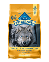 BLUE Wilderness® Grain-Free Healthy Weight Chicken Dry Recipe for Adult Dogs