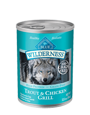 BLUE Wilderness® Rocky Mountain Recipe™ Trout Dinner for Adult Dogs