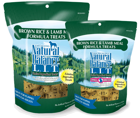 NATURAL BALANCE® L.I.T. Limited Ingredient Treats® - Biscuits for Dogs