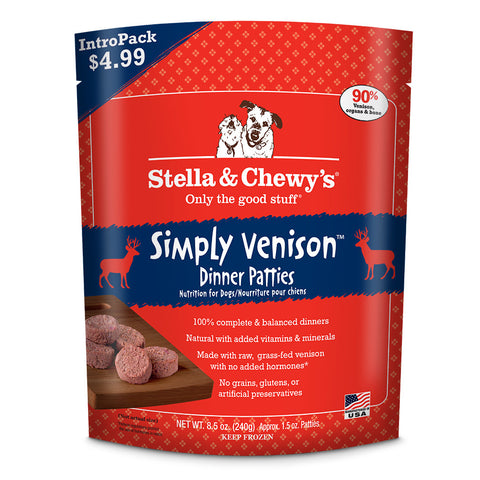 STELLA & CHEWY'S® Raw Simply Venison Dinner Patties