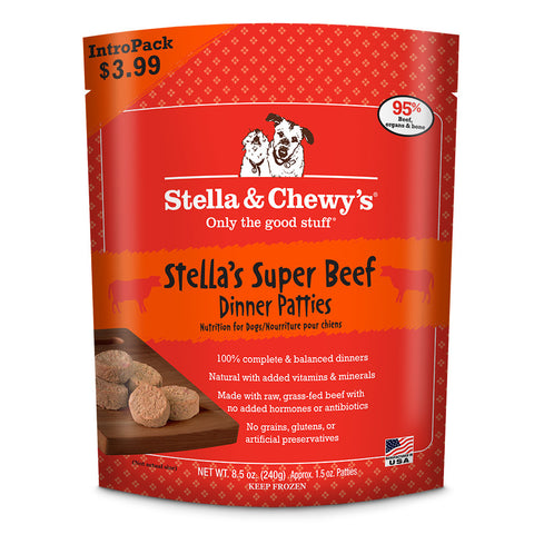 STELLA & CHEWY'S® Raw Super Beef Dinner Patties
