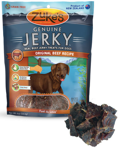 ZUKE'S® Genuine Jerky™ Real Beef Jerky Treats for Dogs