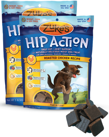 ZUKE'S® Hip Action® Moist Treats for Dogs