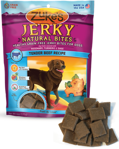 ZUKE'S® Jerky Natural Bites™ Moist Treats for Dogs