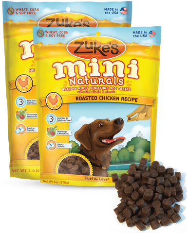 ZUKE'S® Mini Naturals™ Moist Miniature Treats for Dogs
