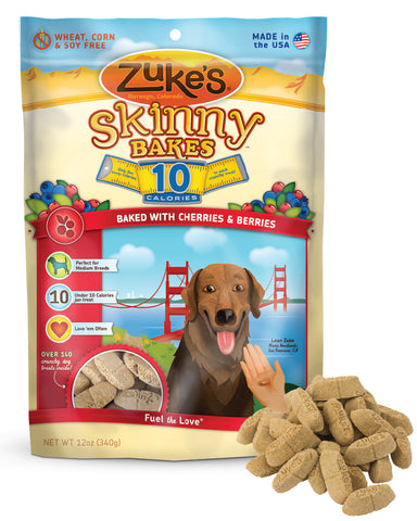 ZUKE'S® Skinny Bakes™ 10 Calorie Crunchy Treats for Dogs