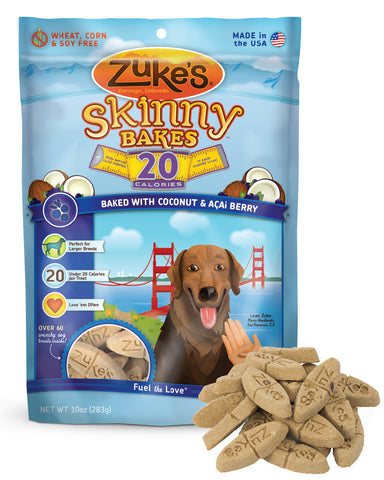 ZUKE'S® Skinny Bakes™ 20 Calorie Crunchy Treats for Dogs