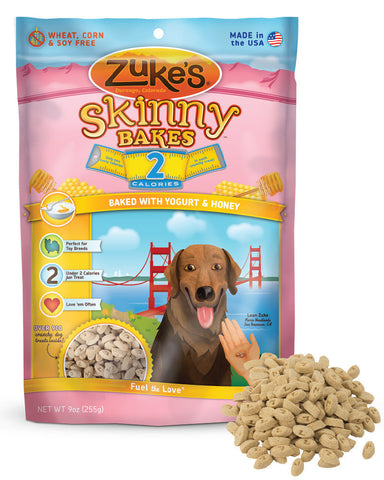 ZUKE'S® Skinny Bakes™ 2 Calorie Crunchy Treats for Dogs