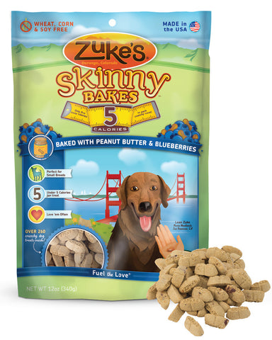 ZUKE'S® Skinny Bakes™ 5 Calorie Crunchy Treats for Dogs