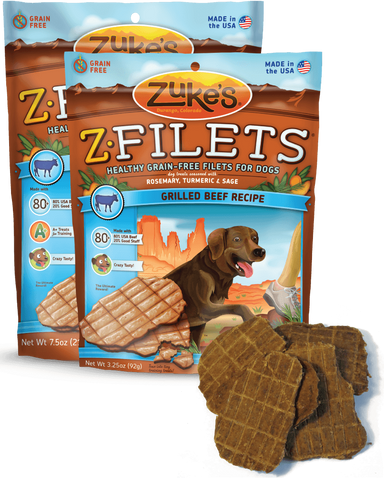 ZUKE'S® Z-Filets® Moist Treats for Dogs