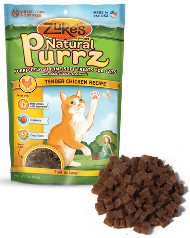 ZUKE'S® Natural Purrz™ Moist Treats for Cats