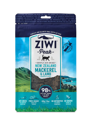 ZiwiPeak Air Dried Cat Food Mackerel & Lamb
