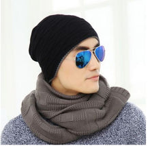 Men's Winter New Style Casual Warm Sweater Hat