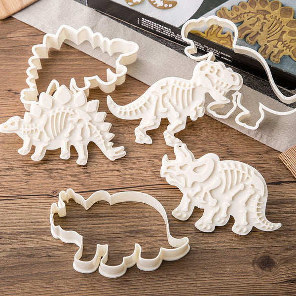 Dinosaur Shaped Cookie Cutter Set