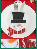 Christmas Silverware Holder (6 pieces)