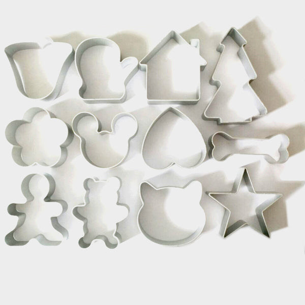 Christmas Cookie Cutter (12 pcs)