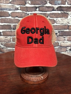 Georgia Dad Vintage Trucker Cap New