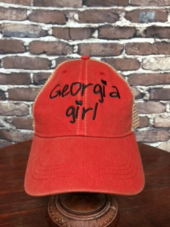 Georgia girl trucker cap - Tailgate time - NEW