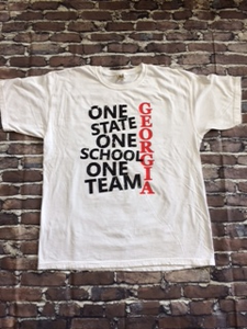 One State, One School, One Team Georgia T-shirt