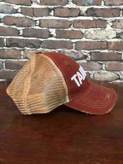 Tailgate trucker hat in cardinal - NEW