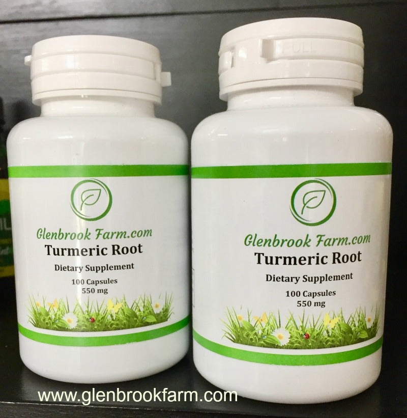 Turmeric Capsules Back in Stock