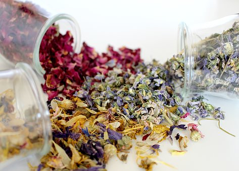 herbal bath teas from www.glenbrookfarm.com