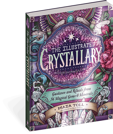 The Illustrated Crystallary book by Maia Toll