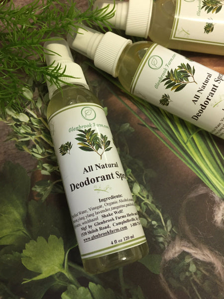 All Natural Deodorant Spray