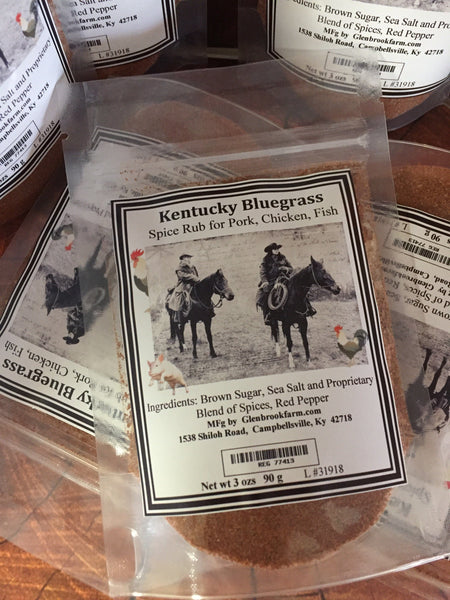 Kentucky Bluegrass Spice Rub