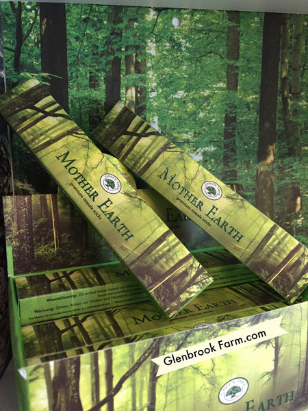 Mother Earth Premium Masala Incense  12 pack