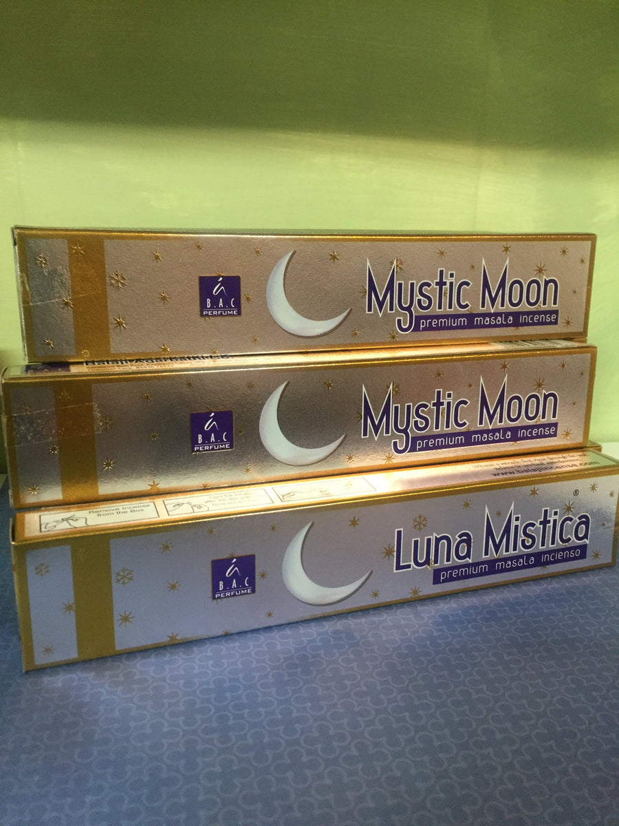 Mystic Moon Incense box