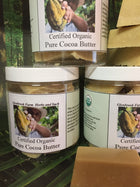 Cocoa Butter-certified organic