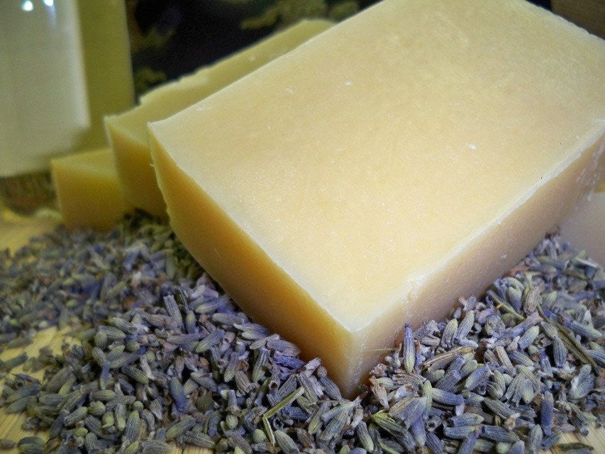 Award winner lavender soap from Glenbrook Farms herbs and Such