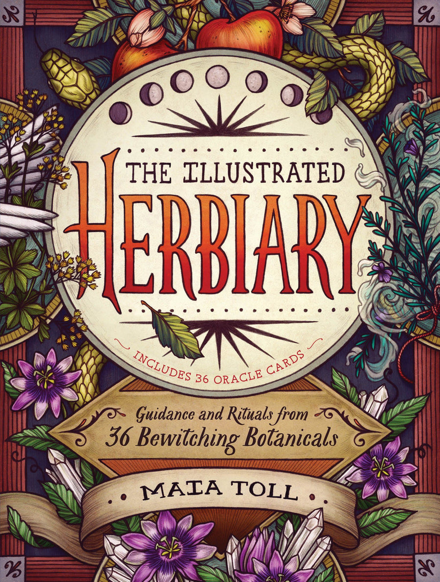 The Illustrated Herbiary by Maia Toll.