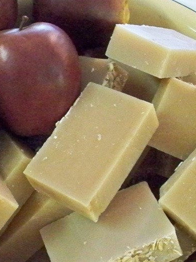 Apple jack soap bar