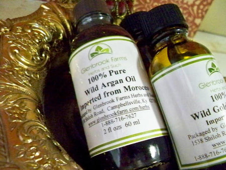 Bottle of Argan Oil