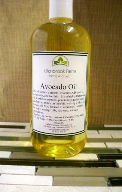 Avocado Oil from www.glenbrookfarm.com