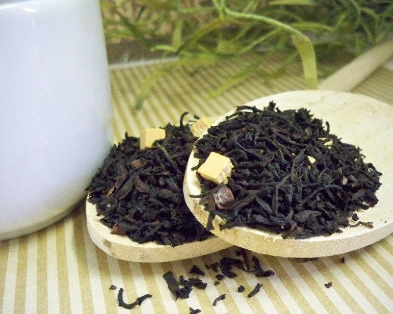 Chocolate Caramel Black Tea from Glenbrook Farms