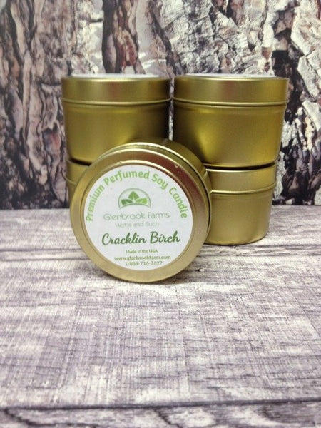 Cracklin Birch Soy Wax Candle