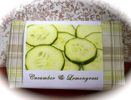 Cucumber and Lemongrass Soap
