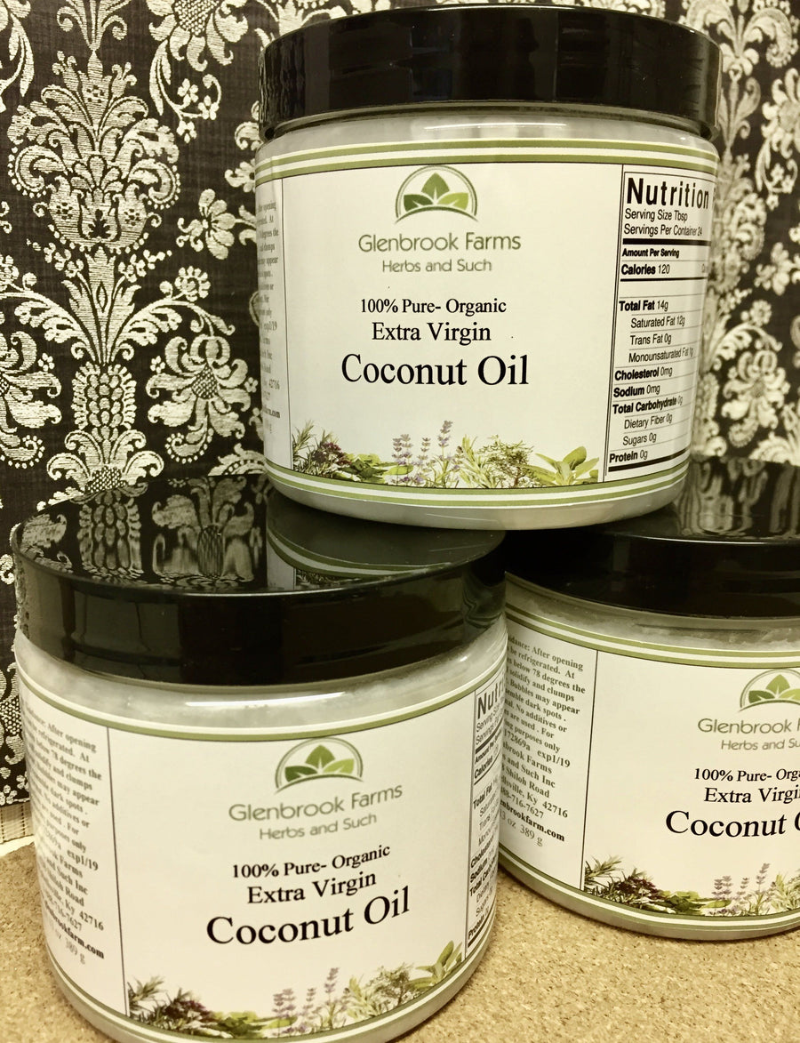 Coconut Oil, Extra Virgin Certified Organic