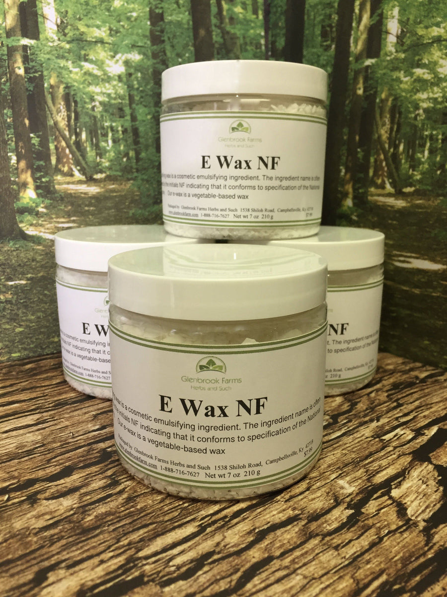 E-Wax from Glenbrook Farms Herbs and Such. Comes in a handy BPA free reusable jar