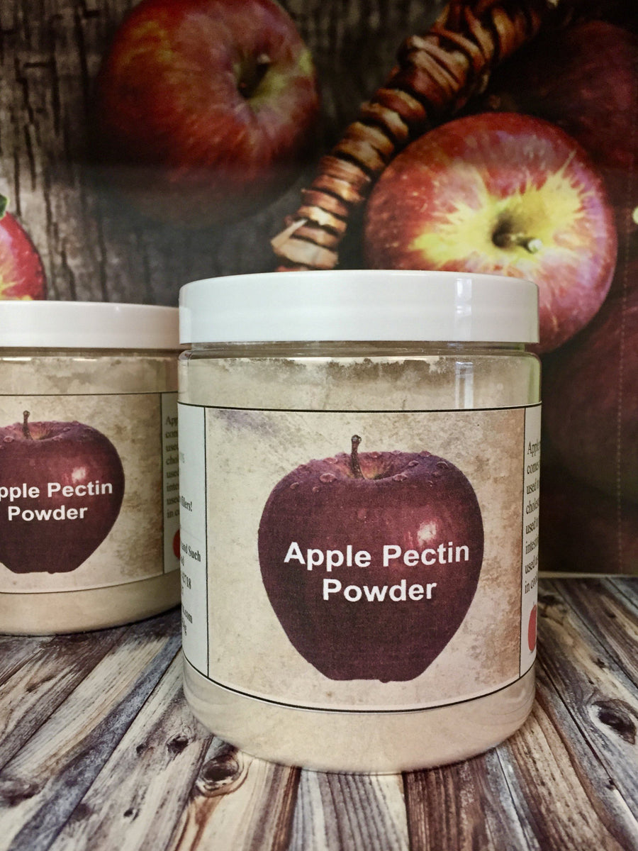 Pure Apple Pectin Powder 16 oz from www.glenbrookfarm.com
