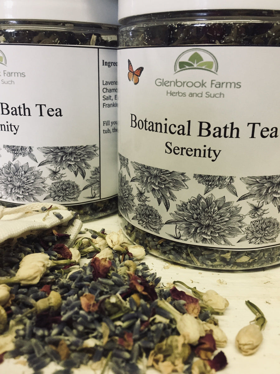 Serenity Botanical Bath Tea