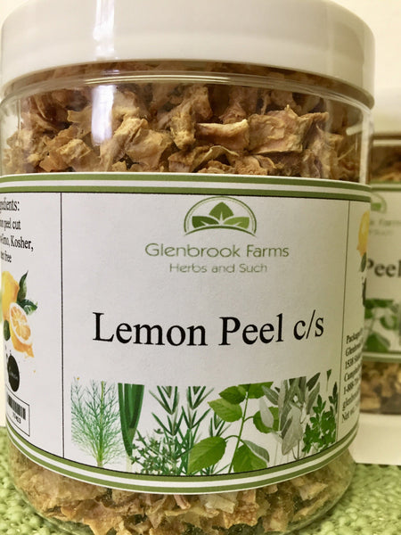 Dried Lemon Peel from www.glenbrookfarm.com