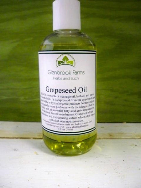 Grapeseed Oil from www.glenbrookfarm.com