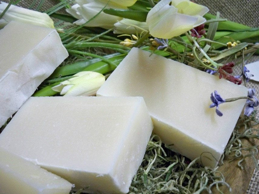 Fine Honeysuckle soap with Goat Milk from www.glenbrookfarm.com